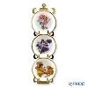 Reutter Porzellan Flower Fairy 075.389/6 Miniature Plate with Rack