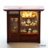 Reuters / porcelain tea shop 002.798 / w/LED light Miniature picture box L