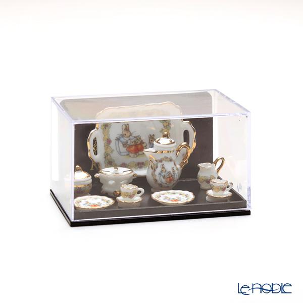 Reutter Porzellan 'Beatrix Potter - Peter Rabbit Flower' 057.361/6 Miniature Tea set