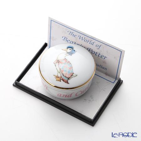 ロイター・ポーセリン ビアトリクスポター 53310/0 ラウンド ジマイマトゥース&カール(乳歯&産毛) ケース