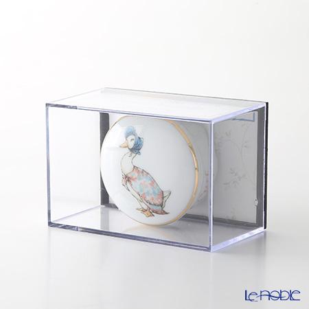 ロイター・ポーセリン ビアトリクスポター 53310/0 ラウンド ジマイマ トゥース&カール(乳歯&産毛) ケース