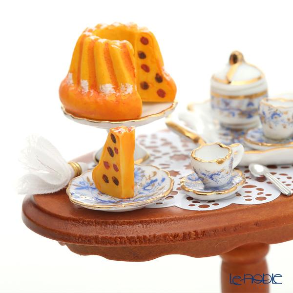 ロイター・ポーセリン コーヒー クラッチ (茶話会) 001.822/1ミニチュア テーブルセット