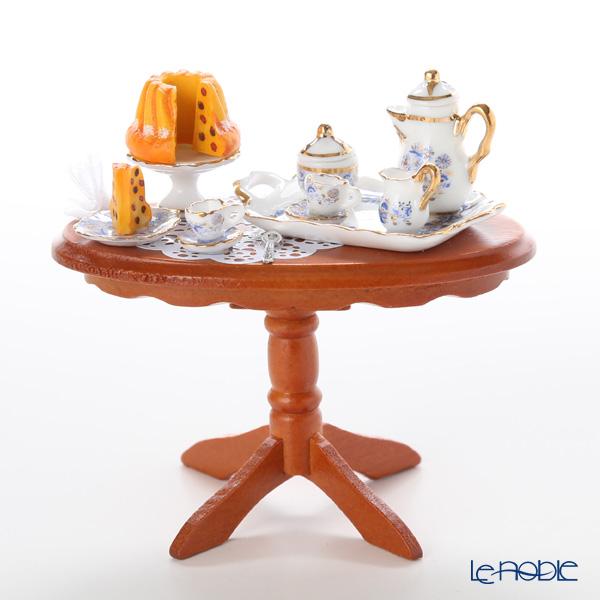 ロイター・ポーセリン コーヒー クラッチ (茶話会) 001.822/1 ミニチュア テーブルセット