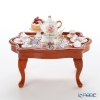 Reutter Porzellan 'Dresden Rose' 001.785/3 Miniature Afternoon Tea Table