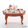 Reuters / porcelain Dresden rose 001.785 / 3 Miniature living room table set
