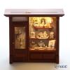 Reutter Porzellan 'Rose Shop' 002.798/3 Miniature Room Box with LED Light (L)