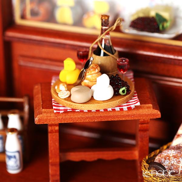 ロイター・ポーセリン チーズ ショップ 001.794/0 ライト付ミニチュア ドールハウス L
