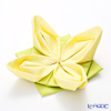Paper+design origami paper napkins 33502 Lily yellow / green 40 x 40 cm 12-pieces