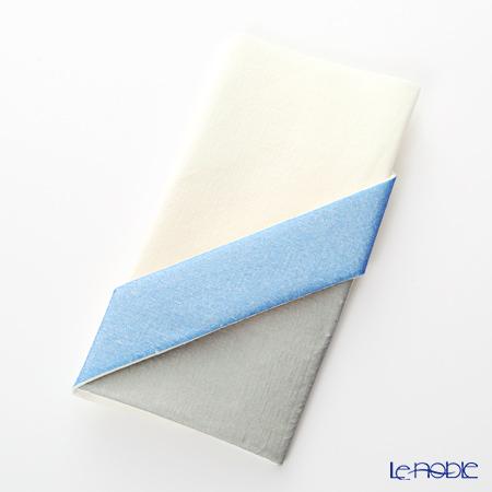 Paper+Design オリガミペーパーナプキン 33507 カトラリーバッグ クリーム/ブルー 40×40cm 12枚入