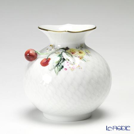 マイセン(Meissen) 波の戯れ 719391/50144 花瓶 チェリー 9cm