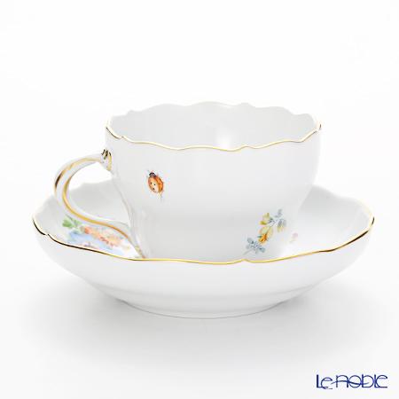 マイセン(Meissen) フラワーブーケ 220110/00582コーヒーカップ&ソーサー 200cc