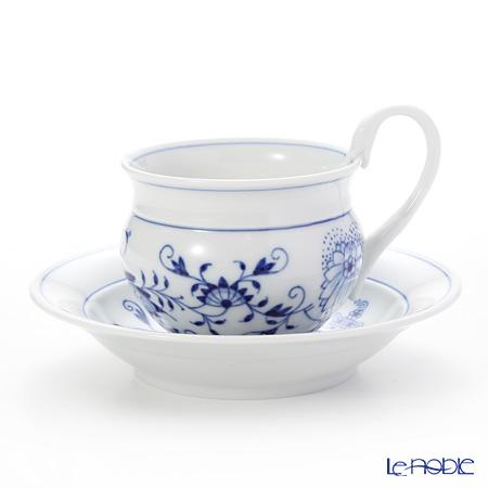マイセン(Meissen) ブルーオニオン 800101/14582 コーヒーカップ&ソーサー 200cc