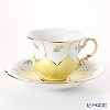 Flower 013098 / 16582 Court, Meissen (Meissen) Coffee Cup & Saucer 200 cc (golden color)