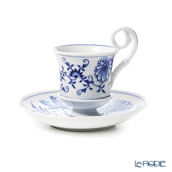 マイセン(Meissen) ブルーオニオン 800101/13583ロングカップ&ソーサー 0.1L