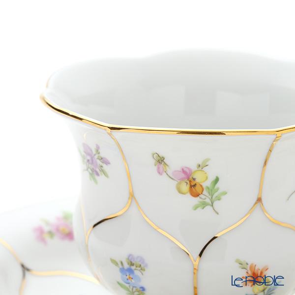 マイセン(Meissen) スキャタードフラワー(金彩縁) 010198/16582コーヒーカップ&ソーサー 200cc