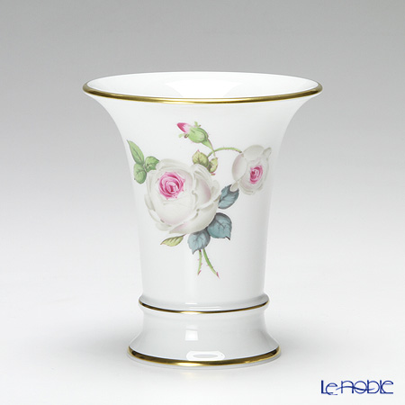 マイセン(Meissen) ホワイトローズ 029510/50033 花瓶 10.5cm