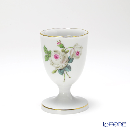 マイセン(Meissen) ホワイトローズ 029510/00179エッグカップ 高さ7cm