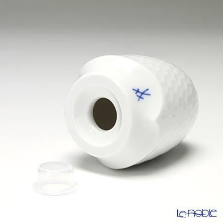 Meissen 'Waves Relief' White 000001/29M03 Salt Shaker H6.5cm