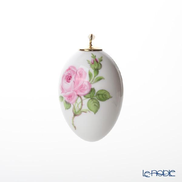 マイセン(Meissen)ピンクのバラ 020101/55M03 イースターエッグ 4.5cm