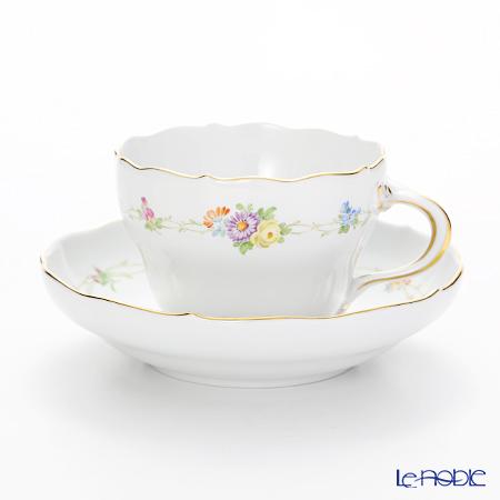 Meissen 'Flower Garland' 229010/00582 Coffee Cup & Saucer 220ml