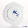 Blue Meissen (Meissen) rose Aquatinta-Rose 750501 / 28,470 Plate 19 cm