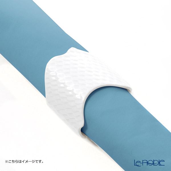 マイセン(Meissen) 波の戯れホワイト 000001/29189 ナプキンリング