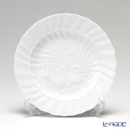 マイセン(Meissen) スワンサービス ホワイト 000001/05472 プレート 20cm