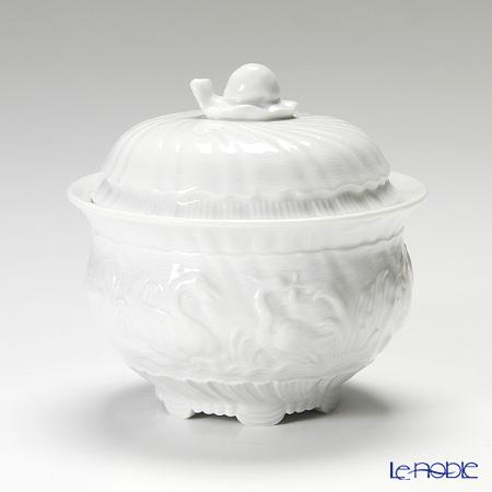 マイセン(Meissen) スワンサービス ホワイト 000001/05827 シュガー 10.5cm