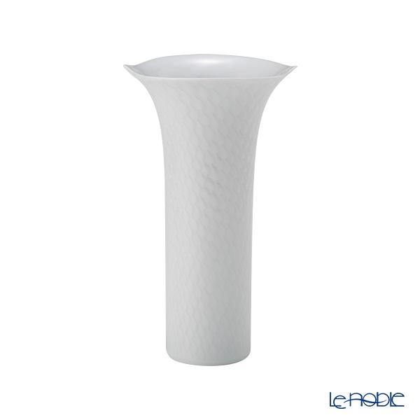 マイセン(Meissen) 波の戯れホワイト 000001/50171 ベース(花瓶) 19cm