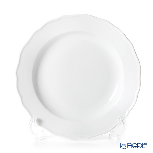 Meissen 'White' (Neuer Ausschni shape) 000001/00472 Plate 20cm