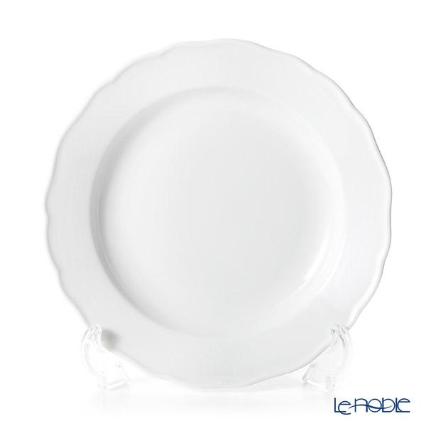 マイセン(Meissen) マイセンホワイト 000001/00472 プレート 20cm(ノイアー・アウスシュニット)