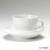 マイセン(Meissen) マイセンホワイト 000001/00582コーヒーカップ&ソーサー 200cc(ノイアー・アウスシュニット)
