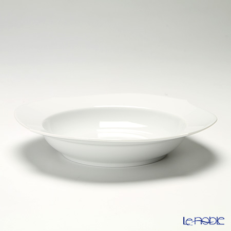 マイセン(Meissen) ホワイトピュア 000001/28488スーププレート 23cm