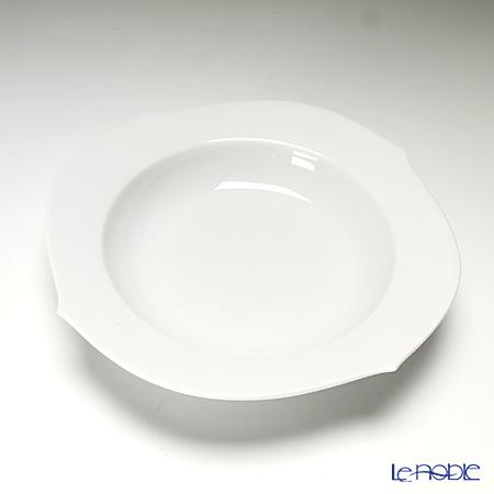 マイセン(Meissen) ホワイトピュア 000001/28488 スーププレート 23cm