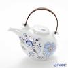 Meissen 'Blue Onion Style' Red & Gold 80A097/24M02 Japanese Tea Pot