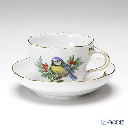 マイセン(Meissen) ビンテージバード 26c003/00582 コーヒーカップ&ソーサー 200cc シジュウカラ