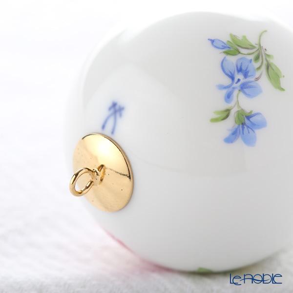 マイセン(Meissen) ベーシックフラワー(二つ花) 04C003/55M09ボールオーナメント 5cm(野バラ)