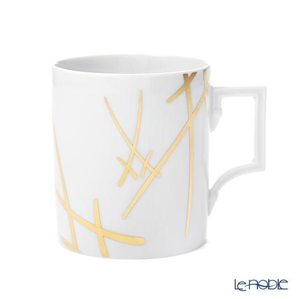マイセン(Meissen) 剣マーク スタイル(ゴールド) マグカップ 240ml/高さ9cm 77a042/55810