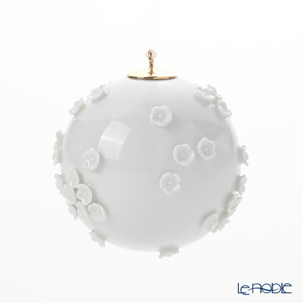 マイセン(Meissen) スノーボール 000001-55m21 ボールオーナメント 5cm