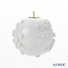 Meissen 'Snowball Blossom' White 000001/55M21 Ball Ornament H5.7cm