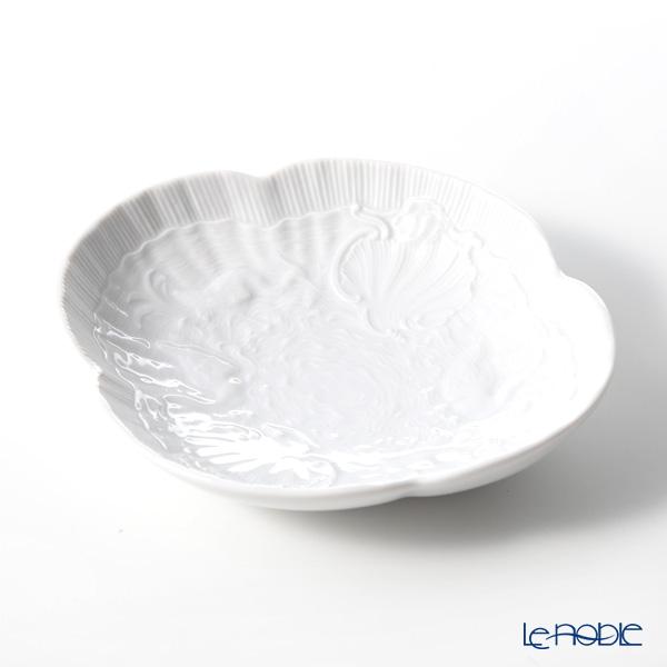 マイセン(Meissen) スワンサービス ホワイト 000001/05283 オーバルディッシュ 13cm