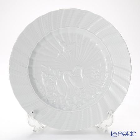 マイセン(Meissen) スワンサービス ホワイト 000001/05479プレート 28cm