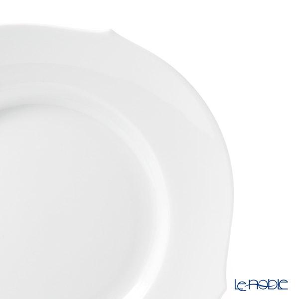 マイセン(Meissen) ホワイトピュア 000001/28472プレート 22.5cm(波の戯れ/レリーフなし)
