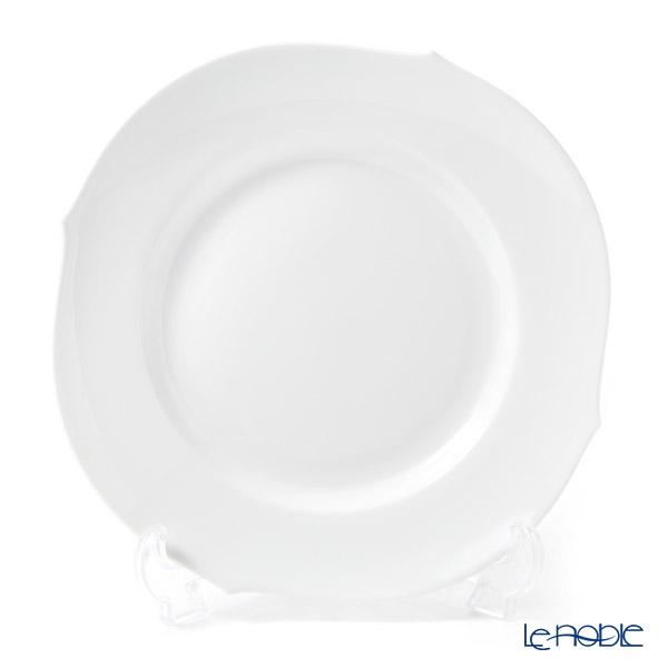 マイセン(Meissen) ホワイトピュア 000001/28472 プレート 22.5cm(波の戯れ/レリーフなし)