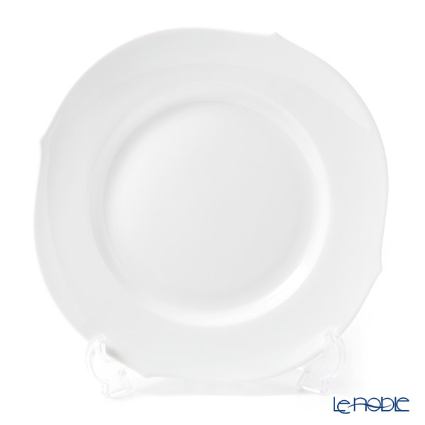 Meissen 'White Pure (Waves Relief / No Relief)' 000001/28472 Plate 22.5cm