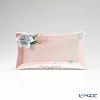 Franz Collection 'Cherry Blossom (Flower)' Blue & Pink FZ01585AE Sculptured Rectangular Plate 22x12cm