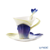 Franz Collection 'Symphony Of Four Seasons - Winter Crocus' FZ02649 Sculptured Cup & Saucer with Spoon
