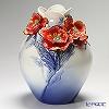 Franz Collection Spring Promise Camellia design sculptured porcelain vase FZ03020