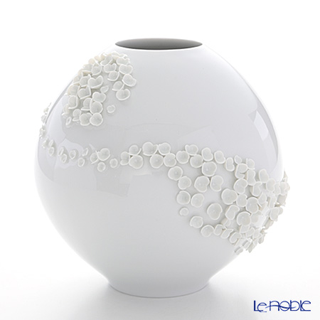 マイセン(Meissen) スノーボール 000001/82325 ベース(花瓶)