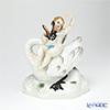 マイセン(Meissen) リミテッドエディション 900184/73060 11/75フィギュリン 20cm 白鳥に乗るキューピッド